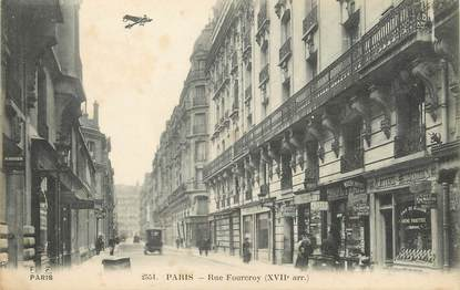 "/ CPA FRANCE 75017 ""Paris, rue Fourcroy"""
