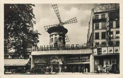 """/ CPSM FRANCE 75018 """"Paris, Montmartre, le moulin rouge"""""""