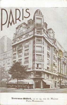"/ CPA FRANCE 75018 ""Paris, Terrass Hôtel"""