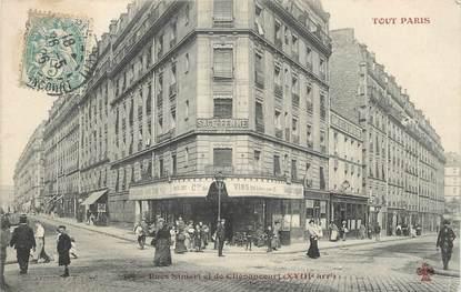 """/ CPA FRANCE 75018 """"Paris, rues Simart et de Clignancourt"""""""
