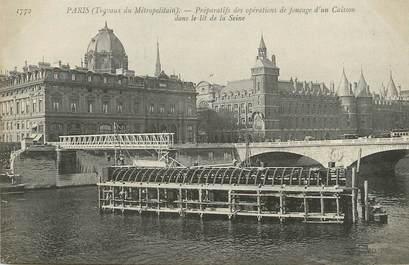 """/ CPA FRANCE 75 """"Paris"""" / METRO"""