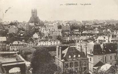 """/ CPA FRANCE 29 """"Quimperlé, vue générale"""""""
