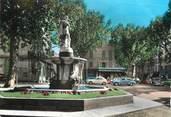 """13 Bouch Du Rhone / CPSM FRANCE 13 """"Salon de Provence, le cours Victor hugo et la statue de Adam de Craponne"""""""