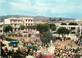 """Antille CPSM  HAITI """"Jacmel, place de l'Hotel de ville"""""""