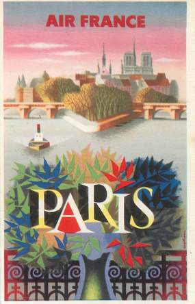 CPSM  AVIATION / AIR FRANCE / Paris