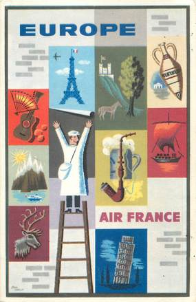 CPSM  AVIATION / AIR FRANCE / Europe