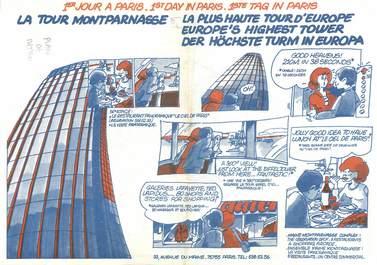 DEPLIANT METRO / PARIS / BD la Tour Montparnasse