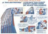 75 Pari DEPLIANT METRO / PARIS / BD la Tour Montparnasse