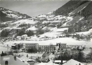 """/ CPSM FRANCE 74 """"Saint Jean d'Aulps, Sylvabelle sous la neige"""""""