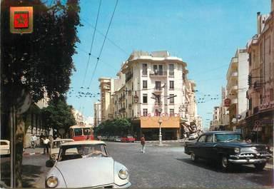 "CPSM MAROC ""Casablanca"" / AUTOMOBILE DS"