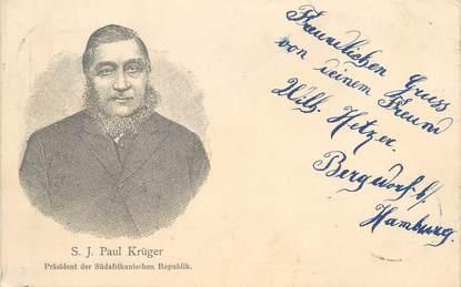 """CPA AFRIQUE DU SUD """"S.J.Paul Krüger"""""""