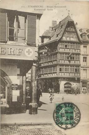 "/ CPA FRANCE 67 ""Strasbourg, maison Kammerzell"""