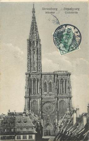 "/ CPA FRANCE 67 ""Strasbourg, Cathédrale"""