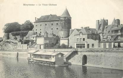 """/ CPA FRANCE 53 """"Mayenne, le vieux château"""""""