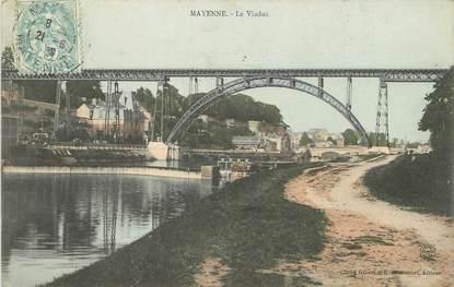 """/ CPA FRANCE 53 """"Mayenne, le viaduc"""""""