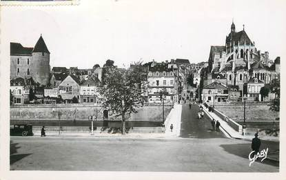 "/ CPSM FRANCE 53 ""Mayenne, le pont neuf"""