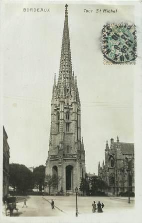 """/ CPSM FRANCE 33 """"Bordeaux, Tour Saint Michel"""""""