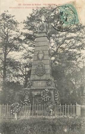 """/ CPA FRANCE 70 """"Villersexel, monument aux morts"""""""