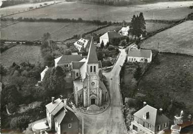 """/ CPSM FRANCE 58 """"Montsauche, l'église"""""""