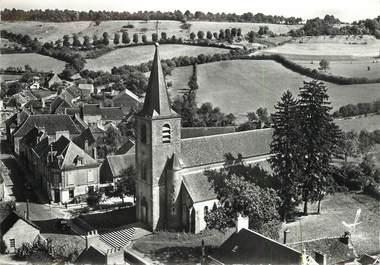 """/ CPSM FRANCE 58 """"Châteauneuf Val de Bargis, l'église"""""""