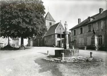 """/ CPSM FRANCE 58 """"Chaumard, la place"""""""