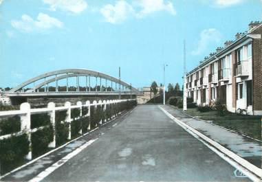 """/ CPSM FRANCE 59 """"Hasnon, le pont sur la Scarpe"""""""