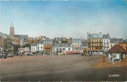 """/ CPSM FRANCE 80 """"Mers Les Bains, la place Roger Salengro"""""""