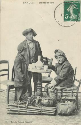 "/ CPA FRANCE 73 ""Savoie, ramoneurs"""