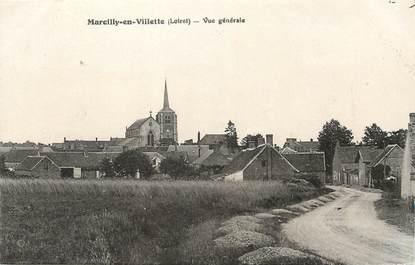 """/ CPA FRANCE 45 """"Marcilly en Villette, vue générale"""""""