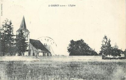 """/ CPA FRANCE 45 """"Courcy, l'église"""""""