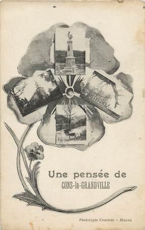 "/ CPA FRANCE 54 ""Cons la Grandville"""