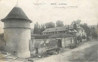 """/ CPA FRANCE 54 """"Faulx, le château"""""""