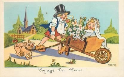 CPA  ROB VEL  / Voyage de Noces