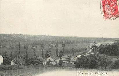 "/ CPA FRANCE 54 ""Panorama de Frolois"""