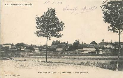 """/ CPA FRANCE 54 """"Chaudeney, vue générale"""""""