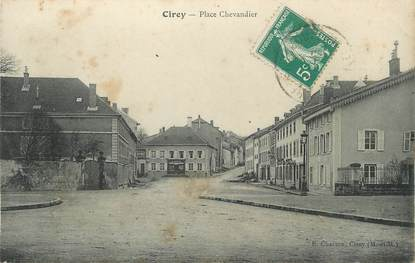 """/ CPA FRANCE 54 """"Cirey Place Chevandier"""""""