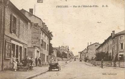 """/ CPA FRANCE 54 """"Frouard, rue de l'Hôtel de ville"""""""