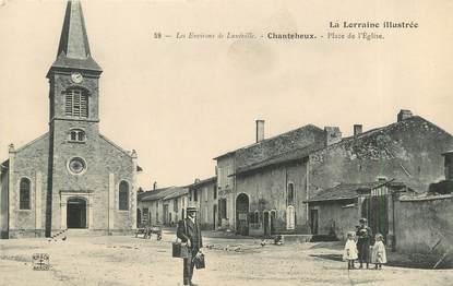 """/ CPA FRANCE 54 """"Chanteheux, place de l'église"""""""