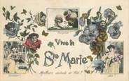 Illustrateur CPA   SAGER / Vive la sainte Marie
