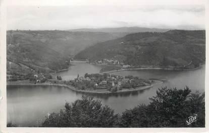 """/ CPSM FRANCE 12 """"Lac de Sarrans, presqu'île de Laussac"""""""