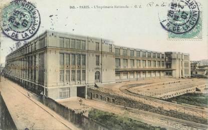 """/ CPA FRANCE 75015 """"Paris, l'imprimerie Nationale"""""""