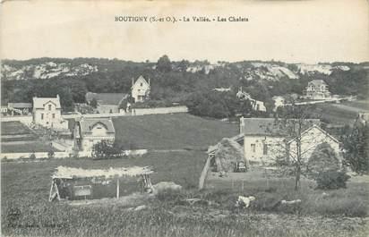 "/ CPA FRANCE 91 ""Boutigny, la vallée, les chalets"""
