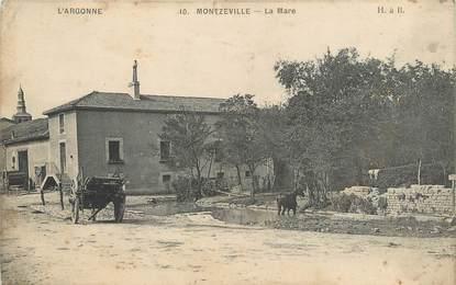 """/ CPA FRANCE 55 """"Montzeville, la mare"""""""
