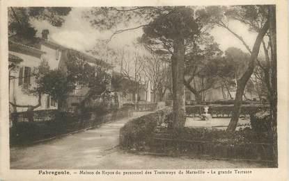 """/ CPA FRANCE 07 """"Balazuc, Fabregoule, maison de repos du personnel des tramways de Marseille"""""""