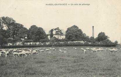 """/ CPA FRANCE 95 """"Mareil en France, un coin de Pâturage"""""""