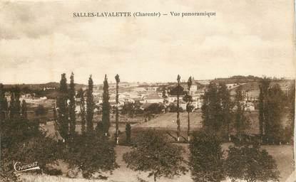 """/ CPA FRANCE 16 """"Salles Lavalette, vue panoramique"""""""