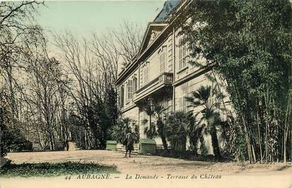 "CPA FRANCE 13 ""Aubagne, terrasse du chateau"""