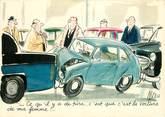 Illustrateur CPSM  ILLUSTRATEUR TETSU / Accident de voiture