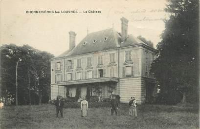 """/ CPA FRANCE 95 """"Chennevières les Louvres, le château"""""""