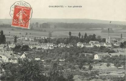 """/ CPA FRANCE 95 """"Chaumontel, vue générale"""""""